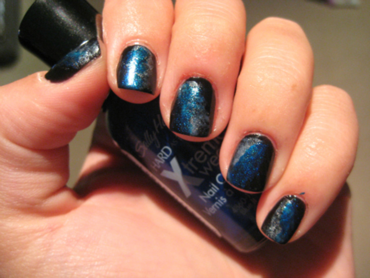 second layer sally hansen - hard as nails xtreme wear