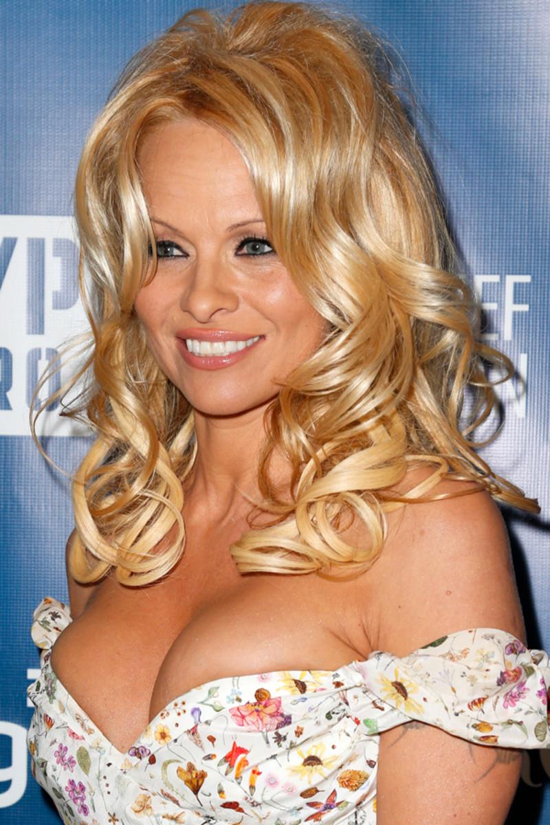 Pamela Anderson - Help Haiti Home gala, 2013