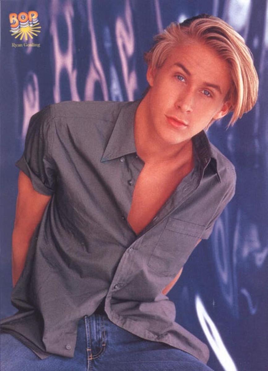 Ryan Gosling, Bop magazine, 1998