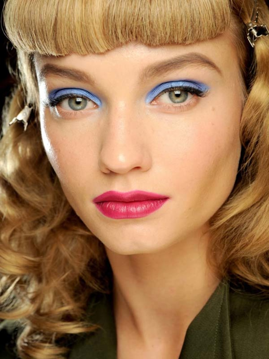Would You Try Colour-Blocking With Your Makeup?