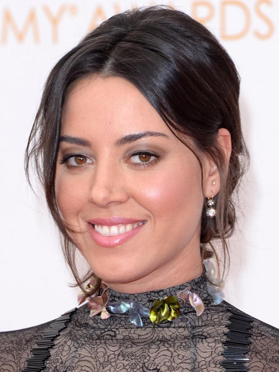 Aubrey Plaza - Emmys 2013