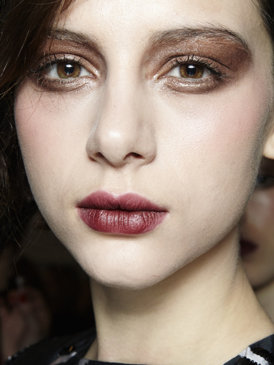 Bibhu Mohapatra - Fall 2013 makeup-2