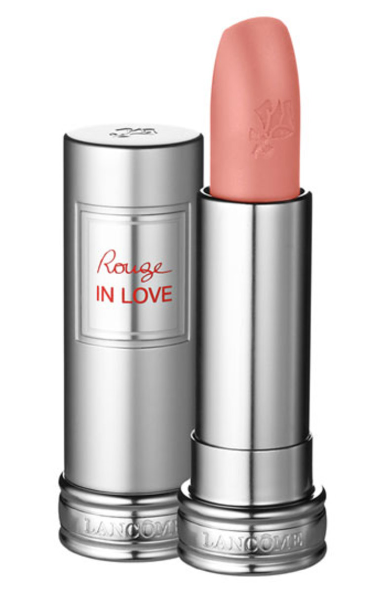 Lancome Rouge in Love Lipcolor in Lasting Kiss