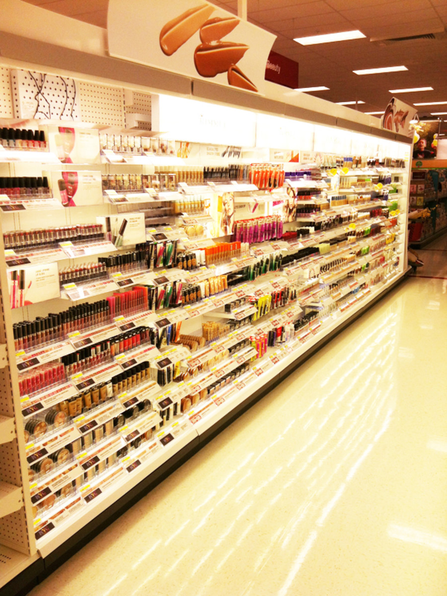 Target Canada launch - beauty section