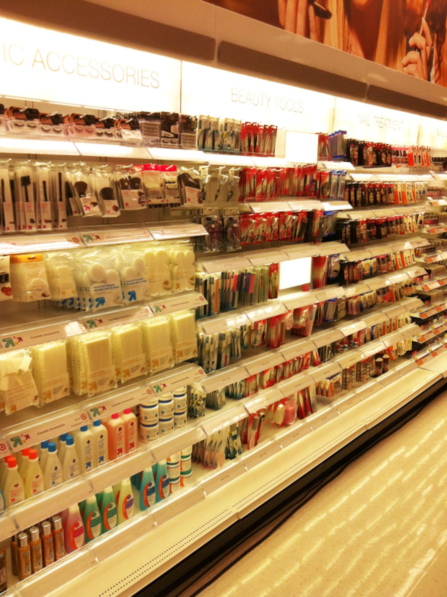 Target Canada launch - nail section