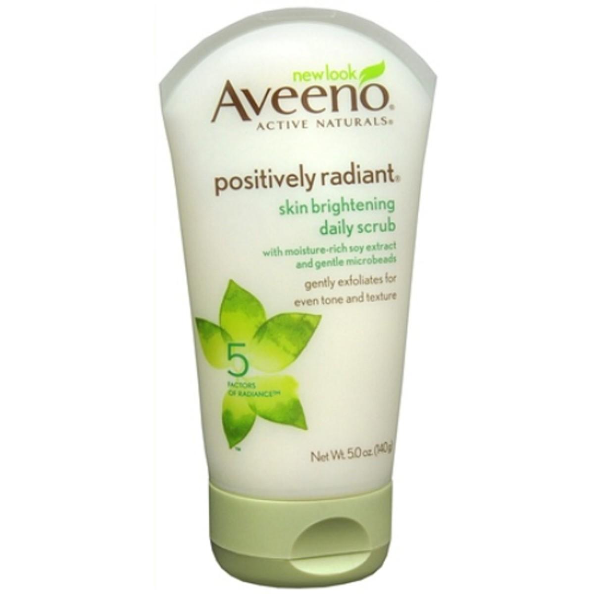 Aveeno Positively Radiant Skin Brightening Daily Scrub