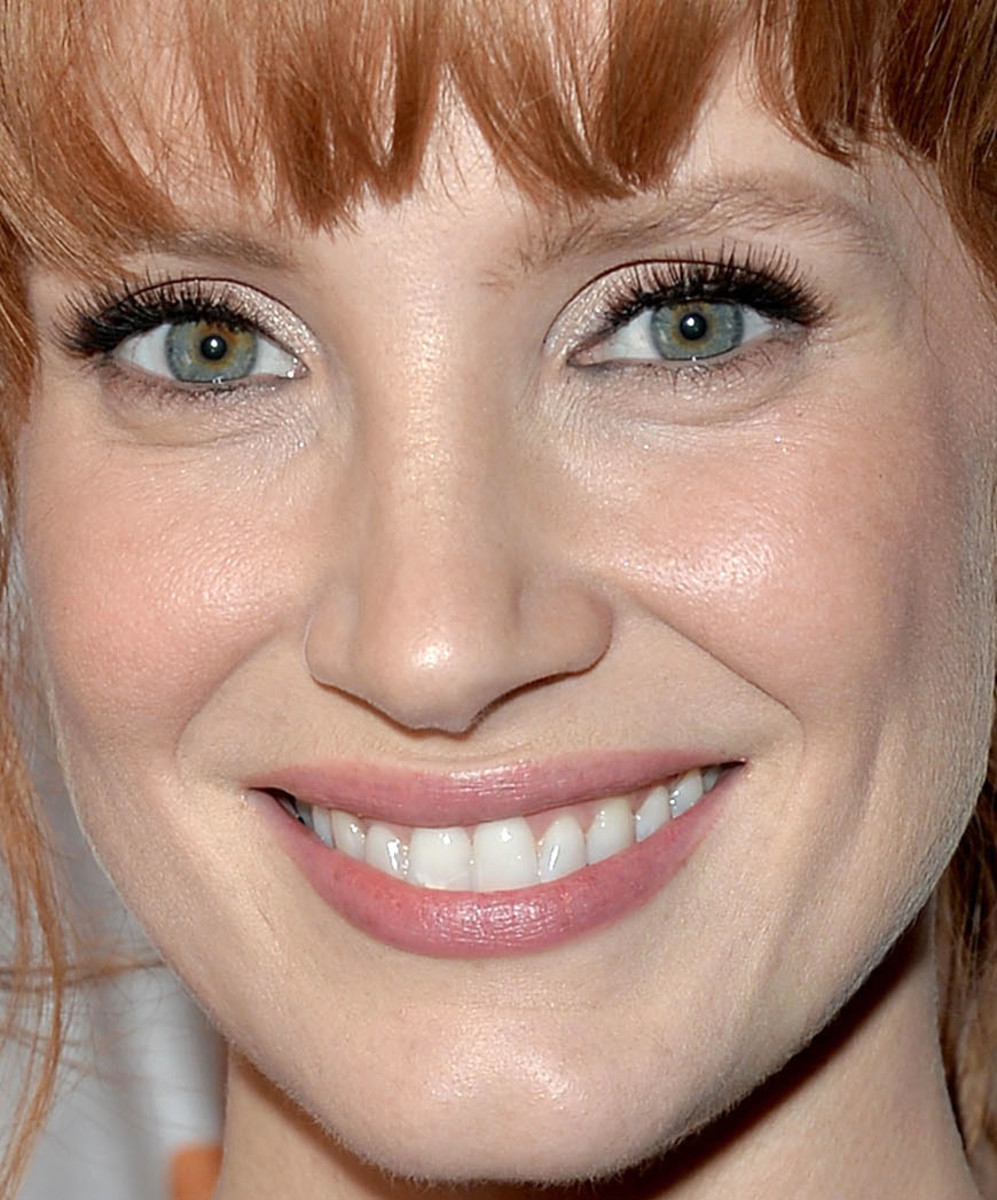 Could Jessica Chastain S Eyes Look Any Brighter Here S