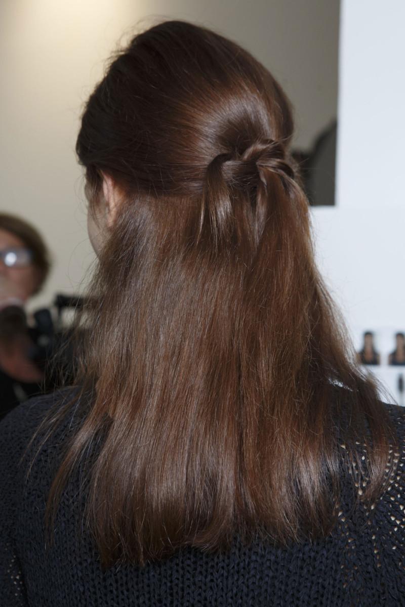 Zero Maria Cornejo Spring 2015 hair