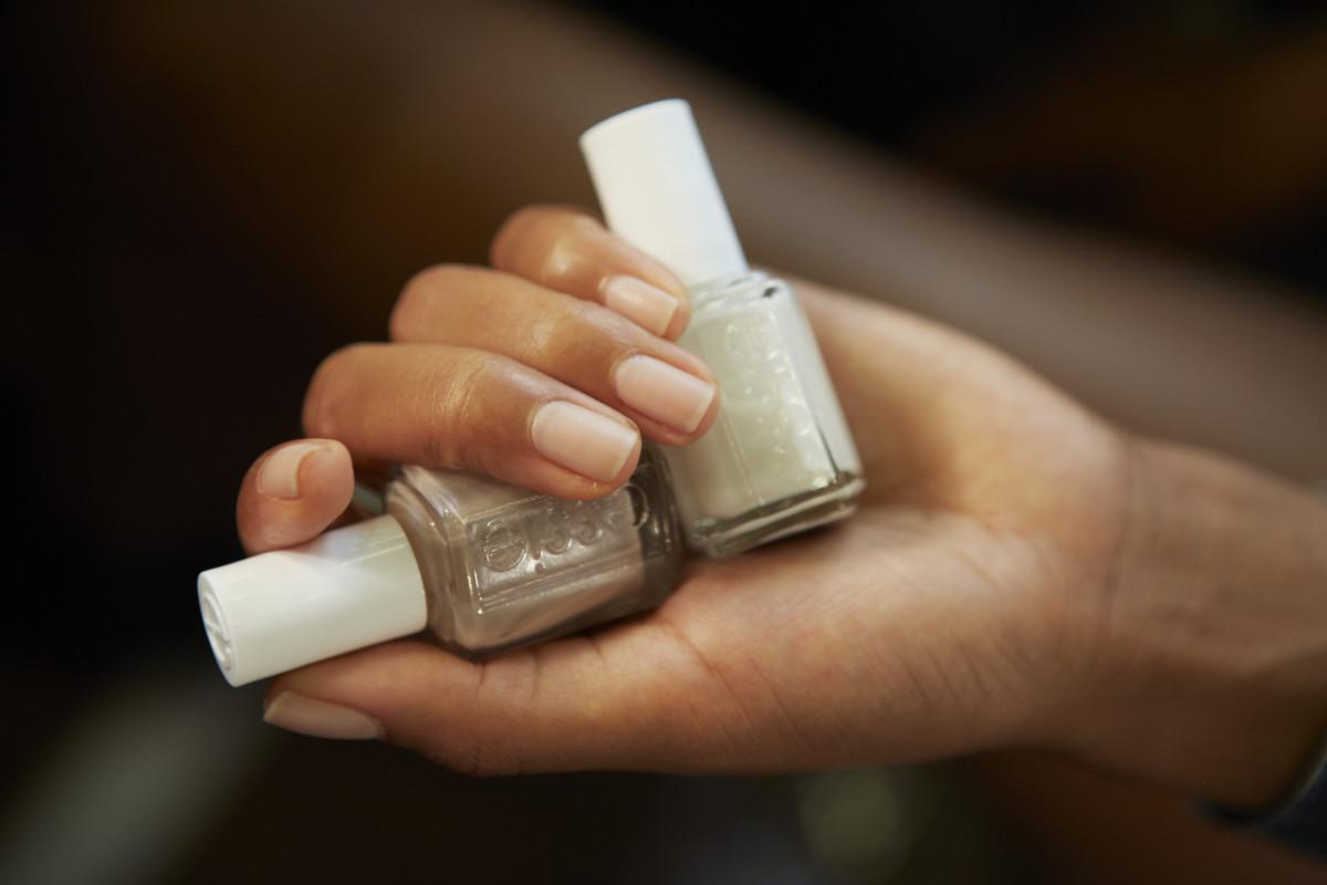DKNY Spring 2015 nails