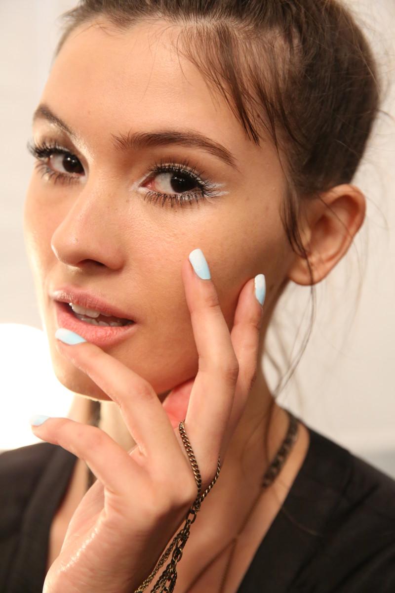 Nanette Lepore Spring 2015 nails