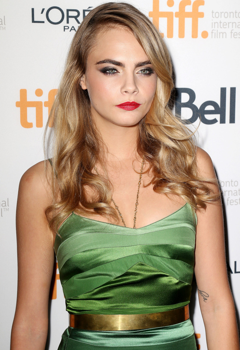 Cara Delevingne, The Face of an Angel premiere, 2014