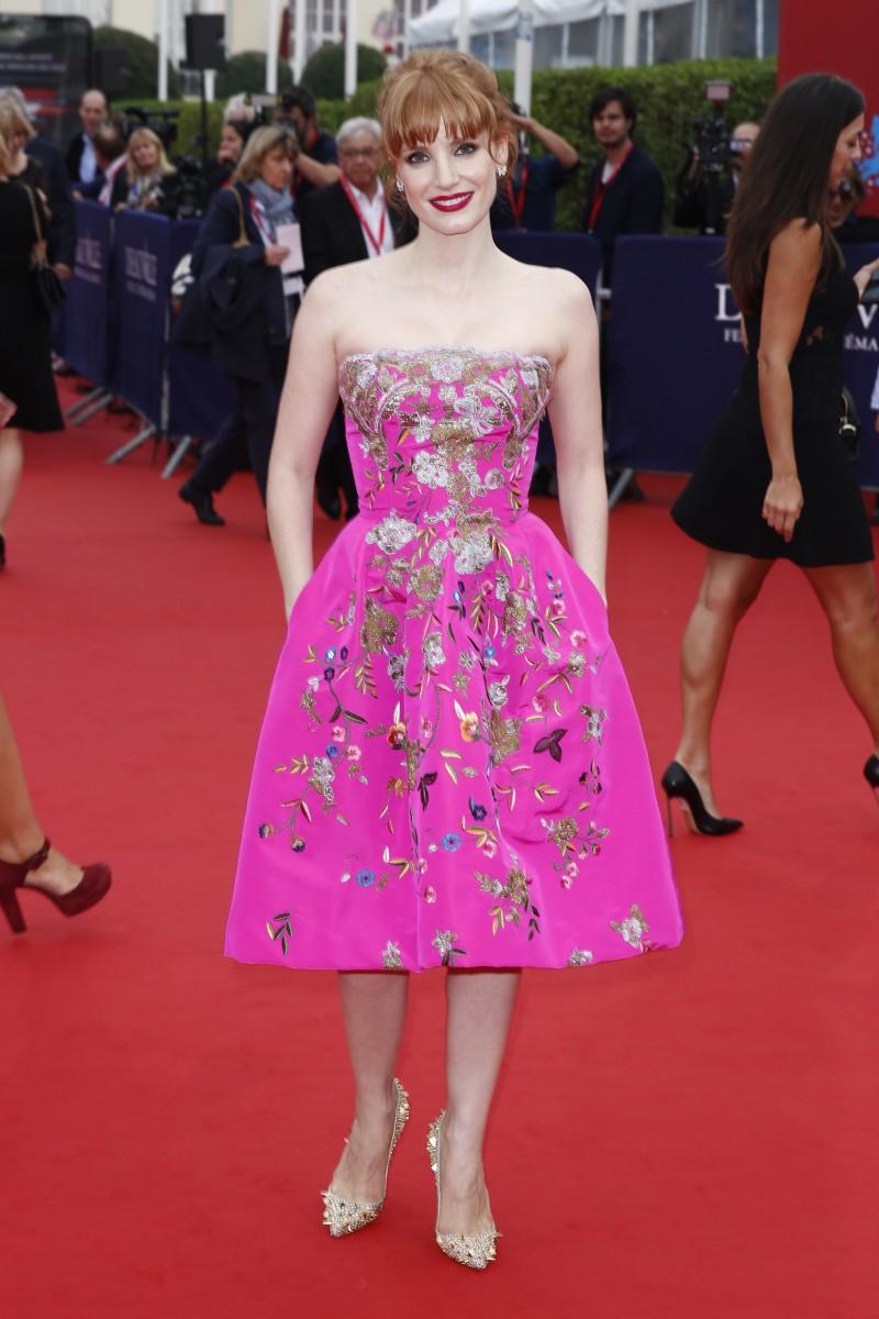 Jessica Chastain, Deauville Film Festival 2014