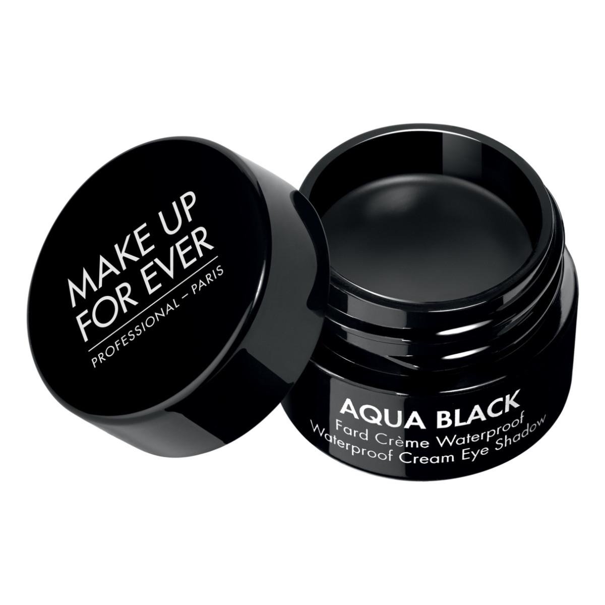 Make Up For Ever Aqua Black Waterproof Cream Eye Shadow