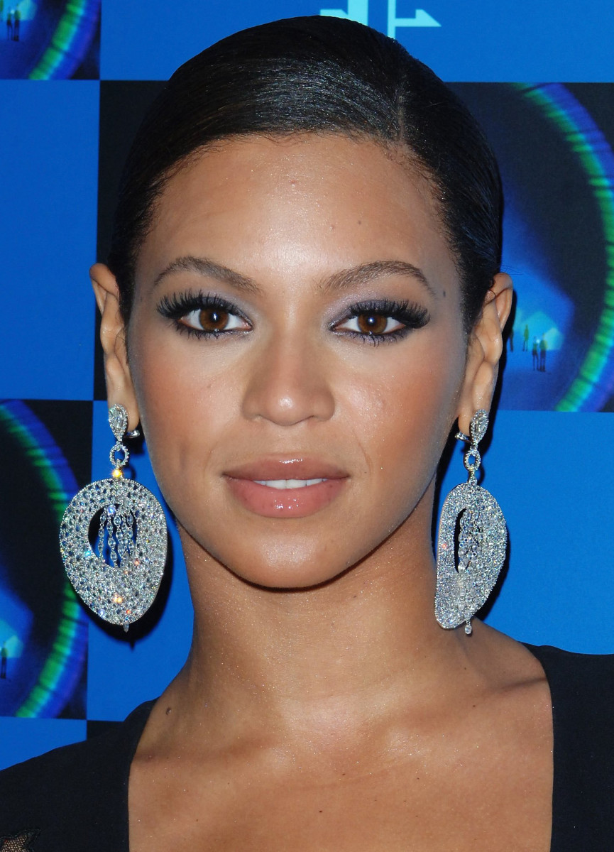 Beyoncé, Before and After - Beautyeditor Beyonce Knowles
