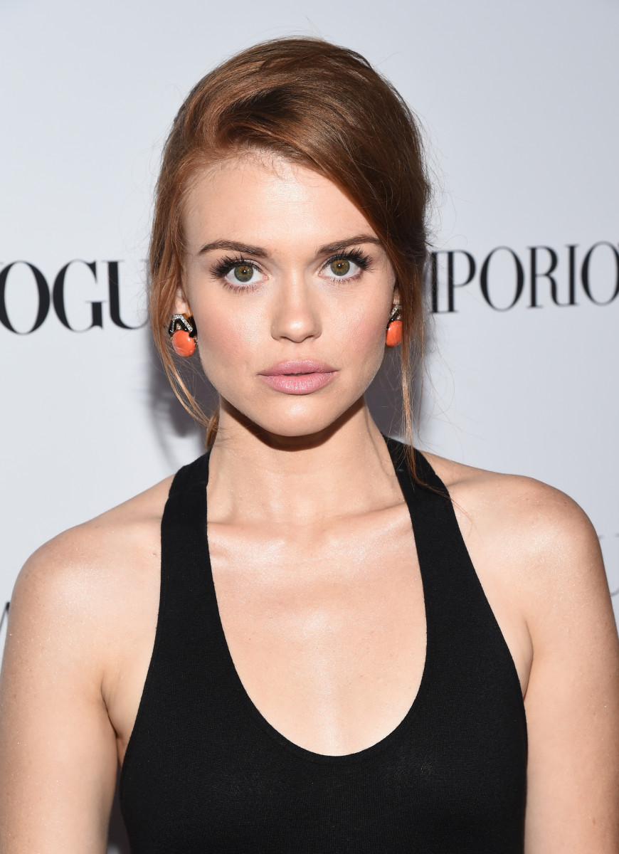 Holland Roden, Teen Vogue Young Hollywood party, 2014