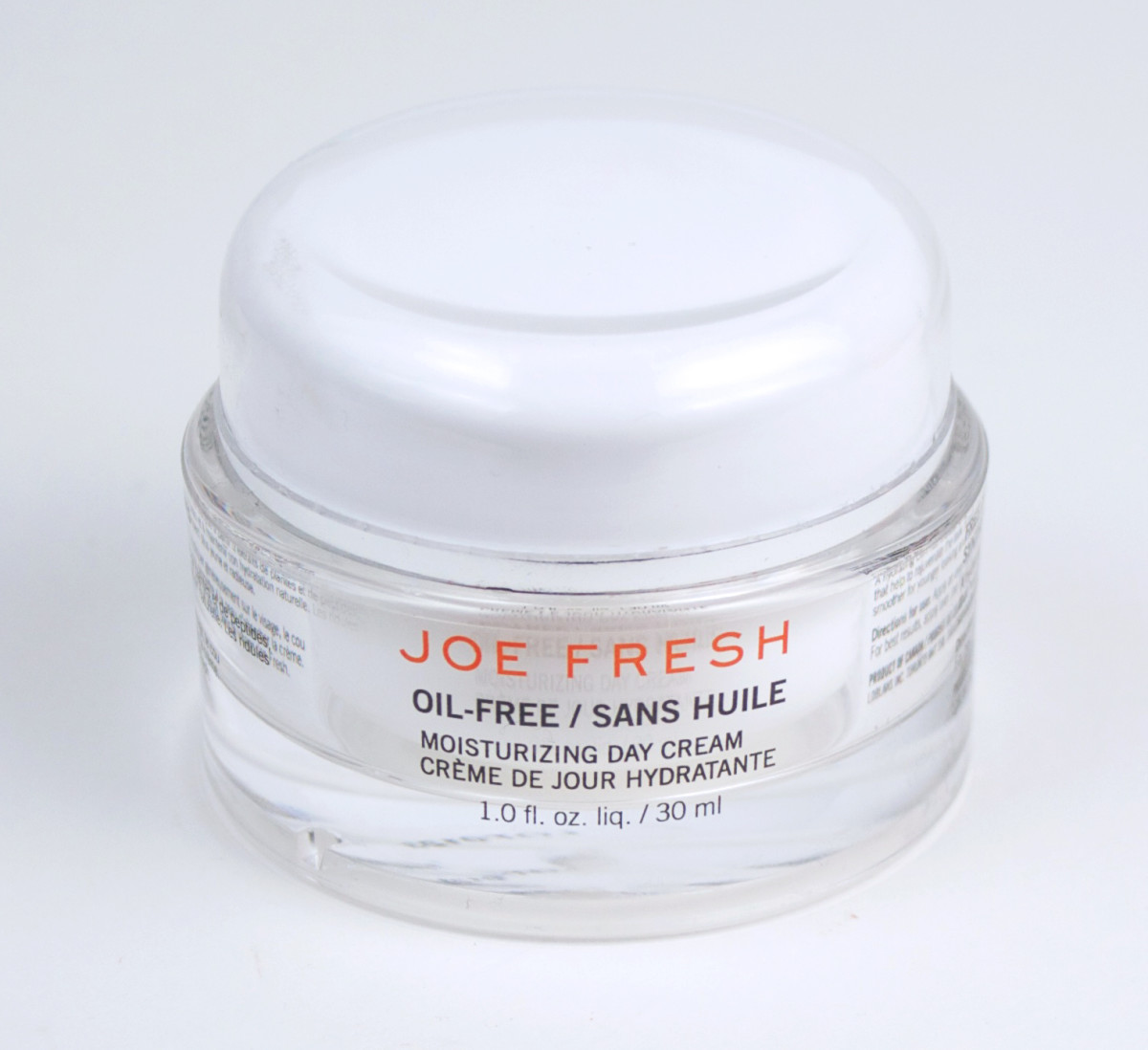 Joe Fresh Oil-Free Moisturizing Day Cream