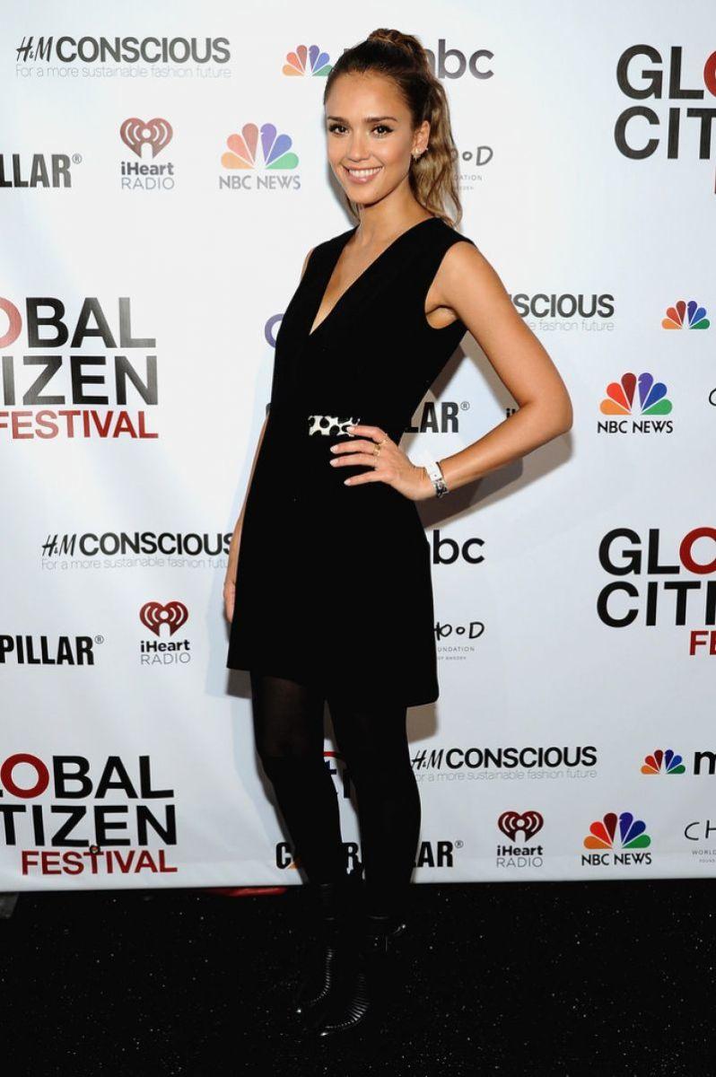 Jessica Alba, Global Citizen Festival 2014