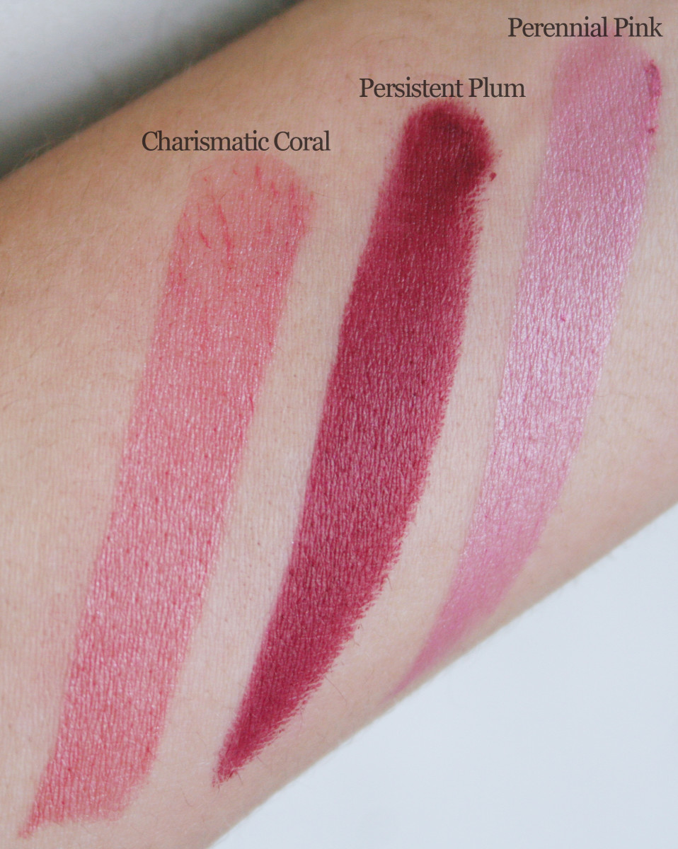 L'Oreal Infallible Le Rouge swatches
