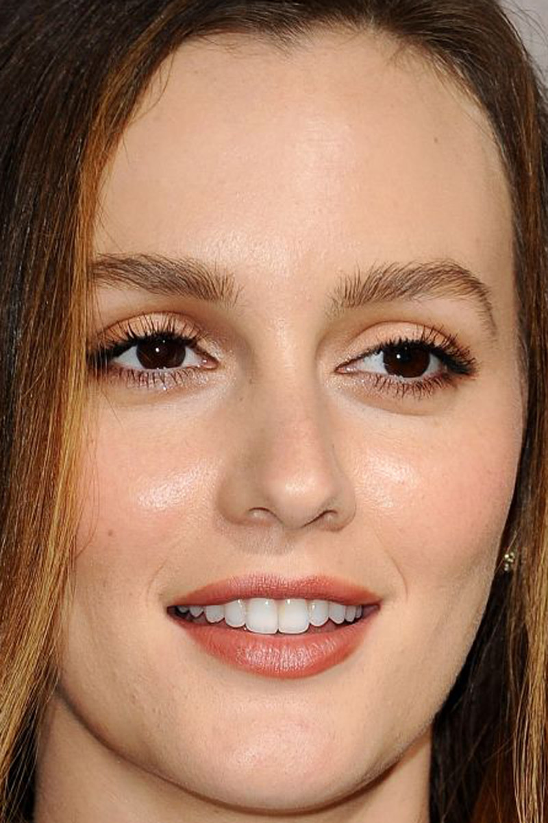 Leighton meester has dicovered a brown lipstick that isnt scary leighton meester the judge premiere 2014 baditri Gallery