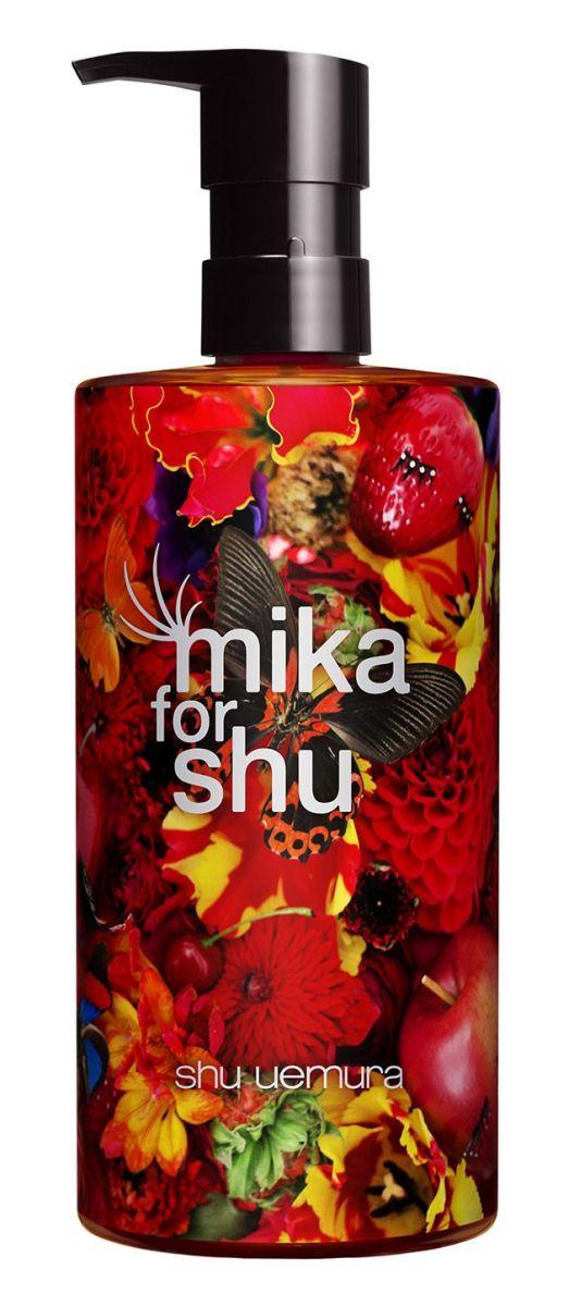 Mika for Shu Uemura Cleansing Oil