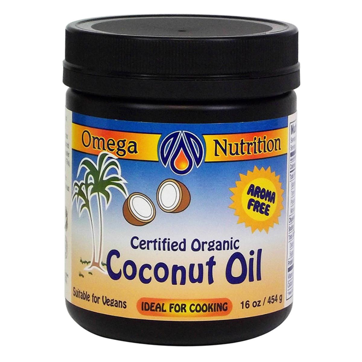 Omega coconut oil