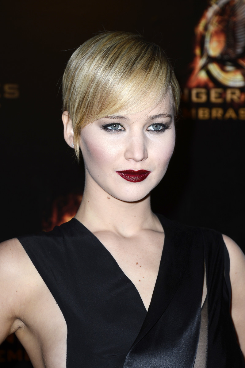 Jennifer Lawrence, Hunger Games Catching Fire premiere, 2013