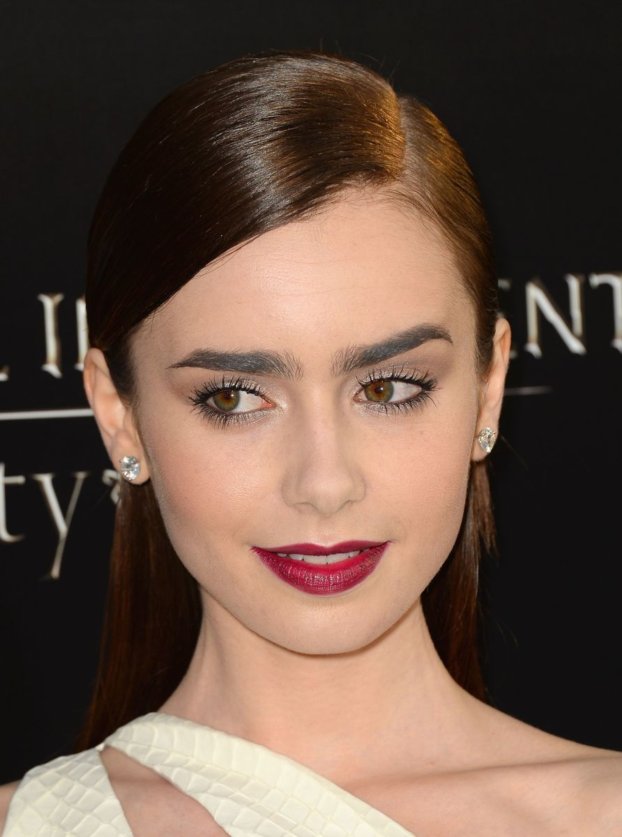 Lily Collins, The Mortal Instruments City of Bones premiere, 2013
