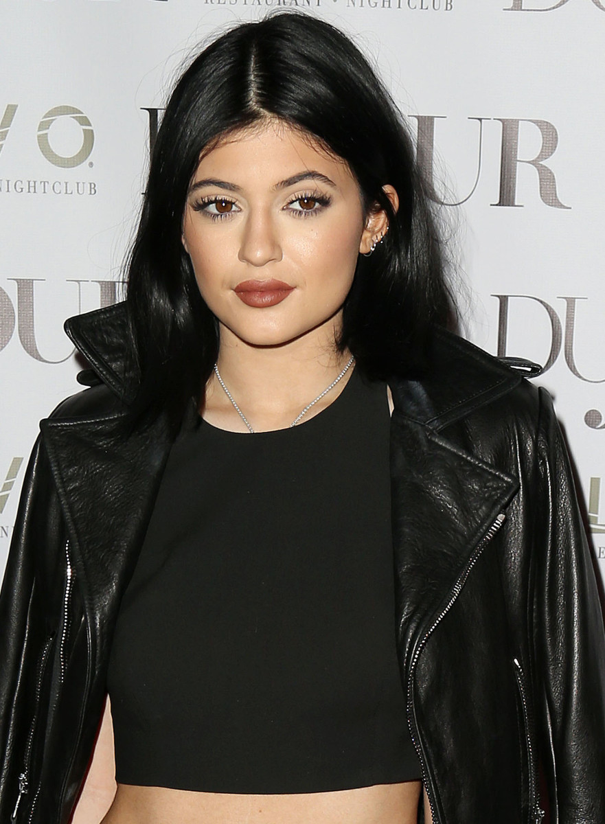 Kylie Jenner, DuJour magazine celebration, 2014