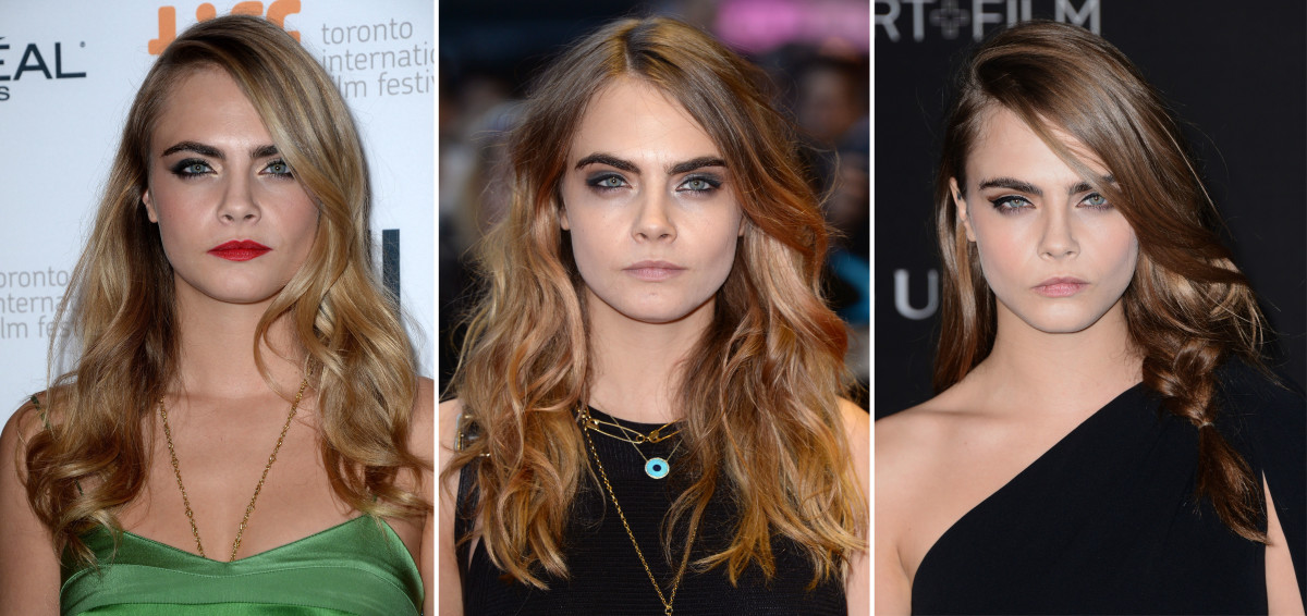 Cara Delevingne hair colour changes