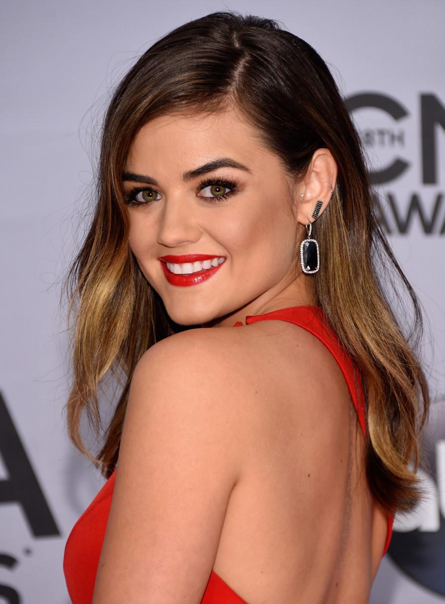Lucy Hale, CMA Awards 2014