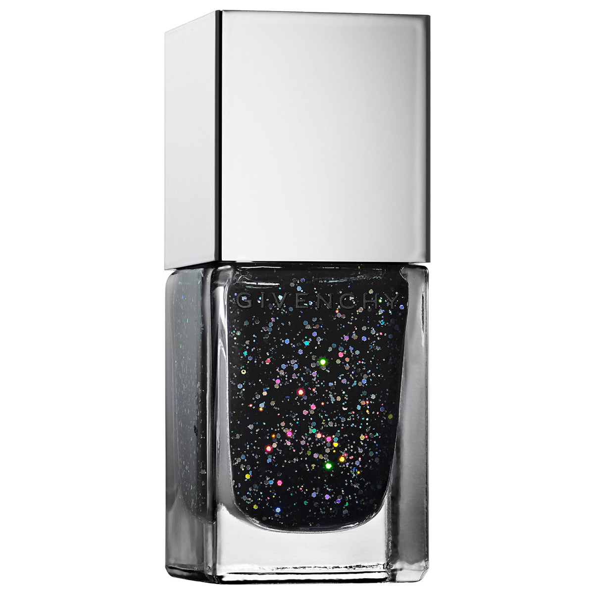 Givenchy Le Vernis Black Glittering Nail Lacquer & Top Coat