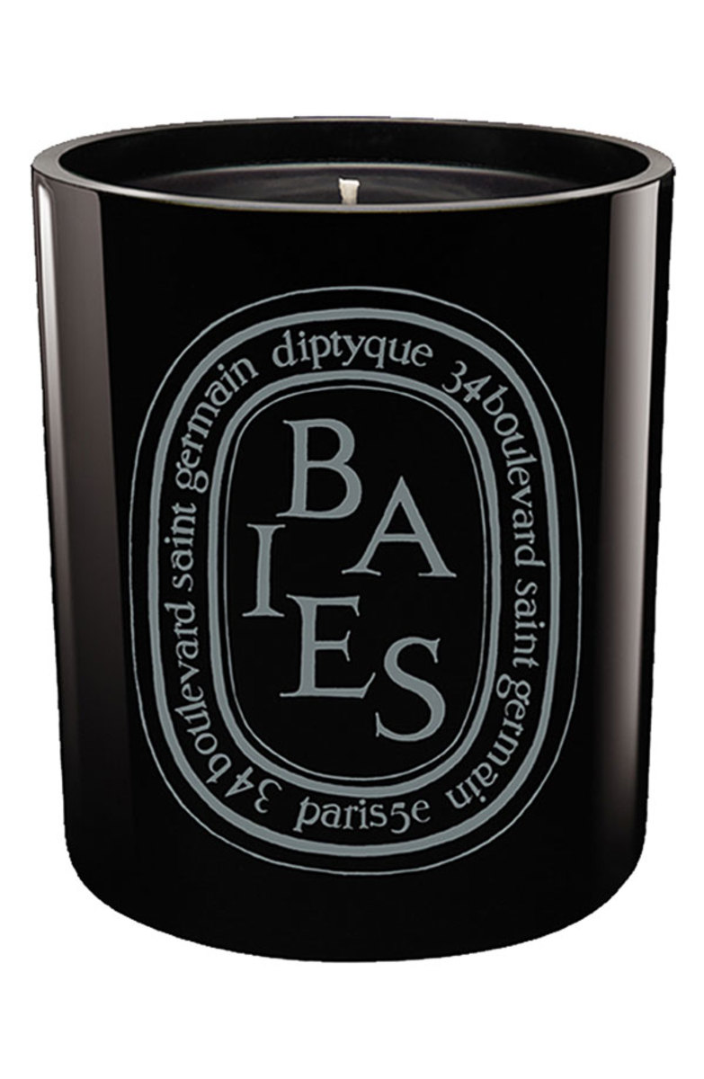 Diptyque Baies Scented Black Candle