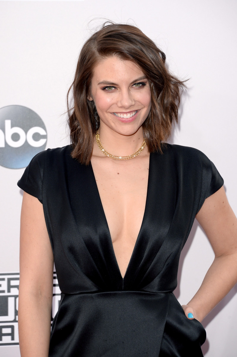 Lauren Cohan, American Music Awards 2014