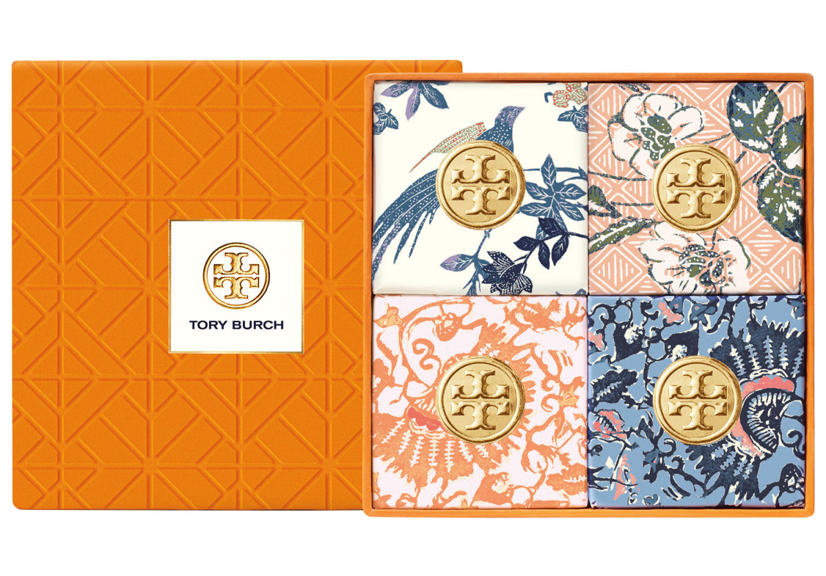 Tory Burch Bath Soap Set