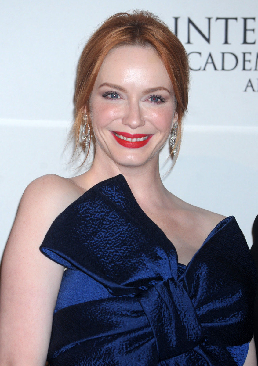 Christina Hendricks, International Academy of Television Arts and Sciences Emmy Awards, 2014