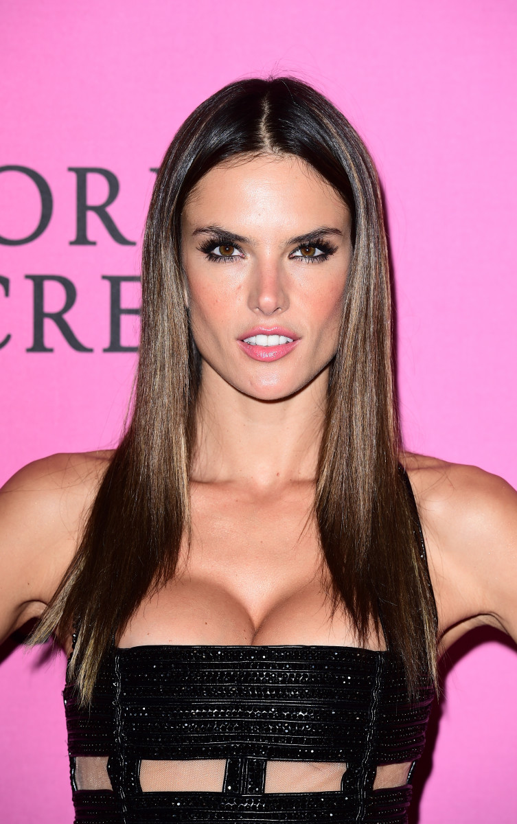 Alessandra Ambrosio, Victoria's Secret Fashion Show after-party, 2014