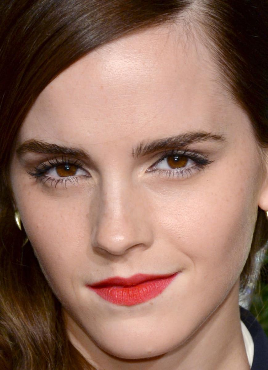 Emma Watson, British Fashion Awards 2014 (close-up)