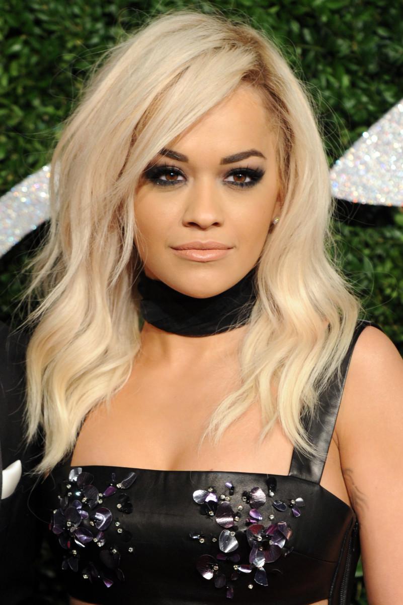Rita Ora, British Fashion Awards 2014