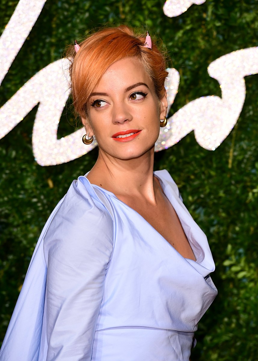 20 of the Best Beauty Looks at the British Fashion Awards ... Lily Allen
