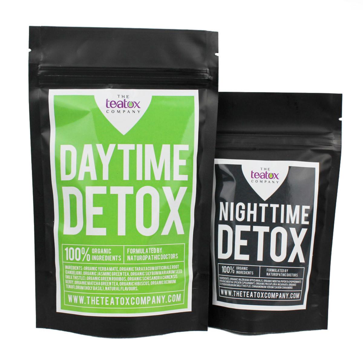 The Teatox Company 28 Day Tea Detox + Total Detox Handbook