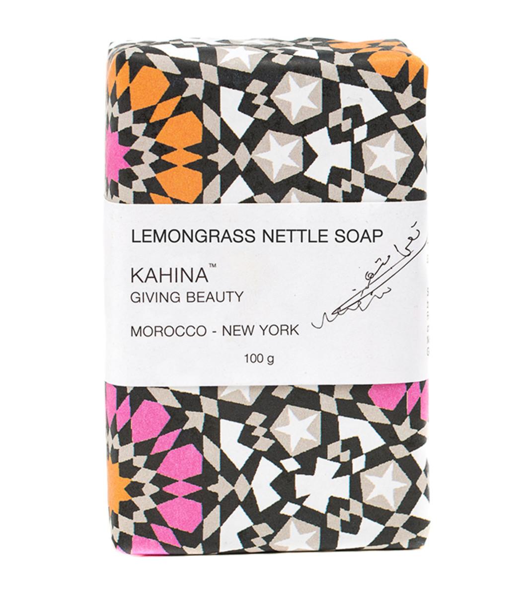 Kahina Giving Beauty Lemongrass Nettle Soap
