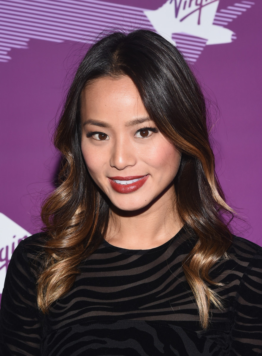 Jamie Chung, Virgin America event, 2014