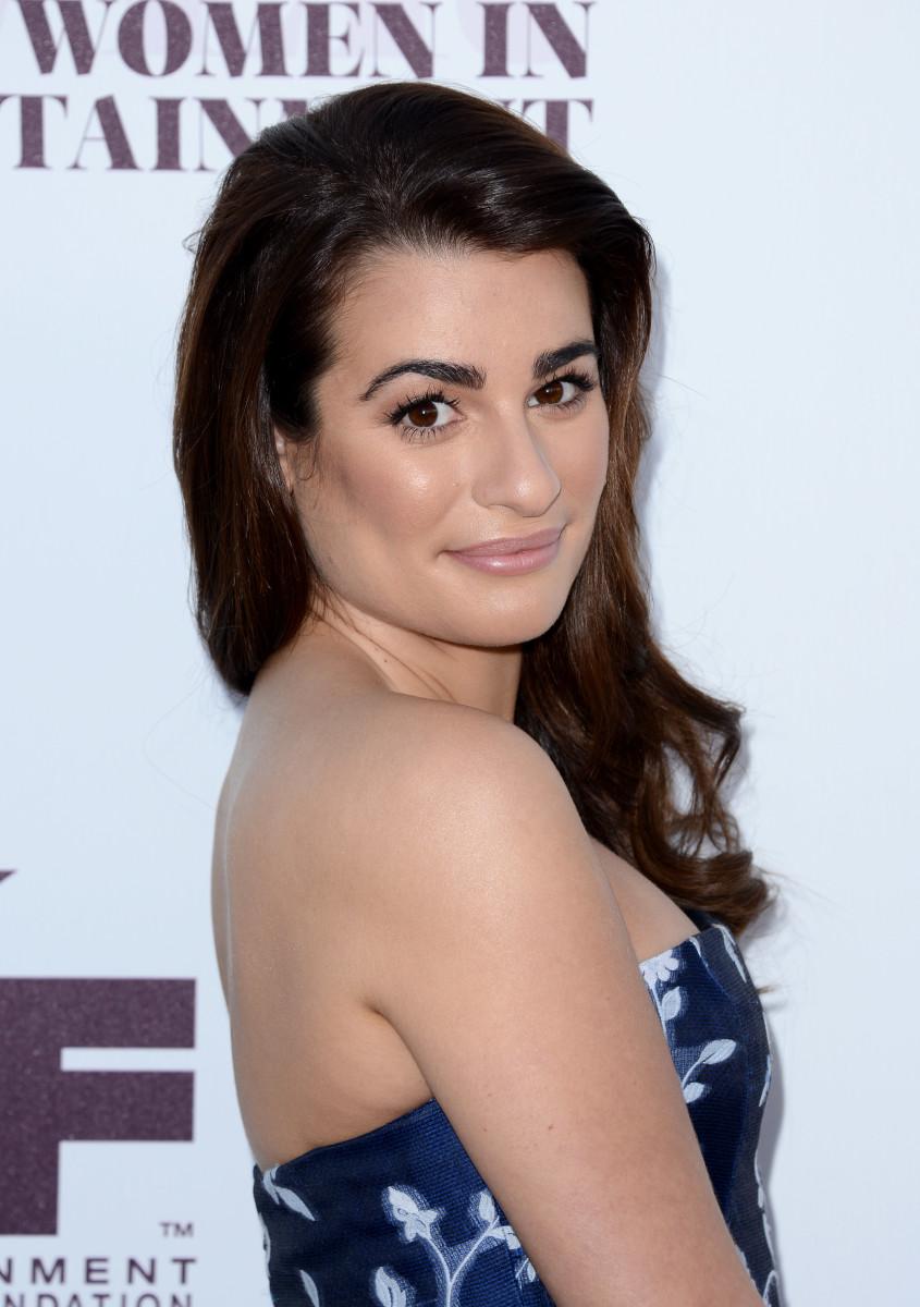 Lea Michele, Hollywood Reporter's Women in Entertainment Breakfast, 2014