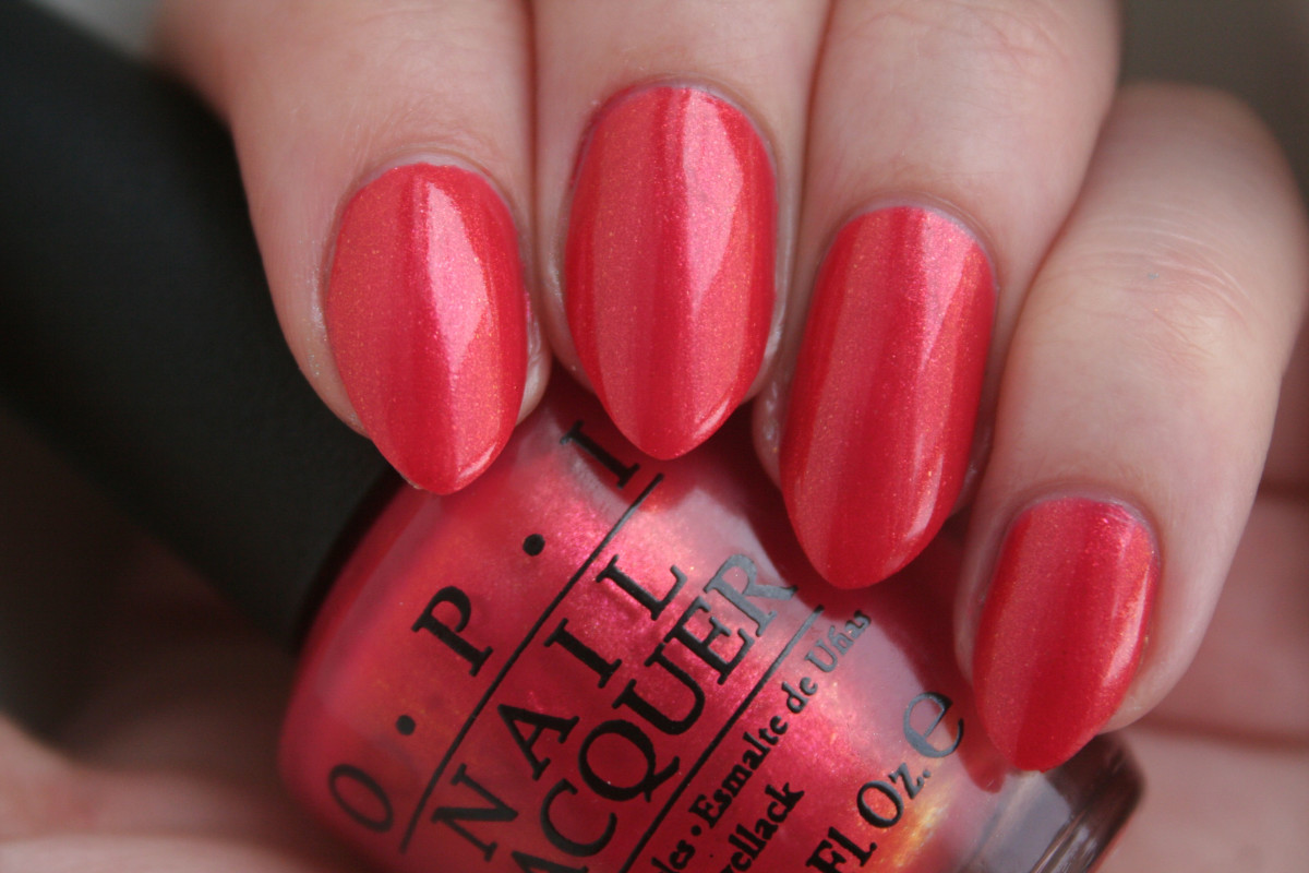 OPI Hawaii - Go with the Lava Flow