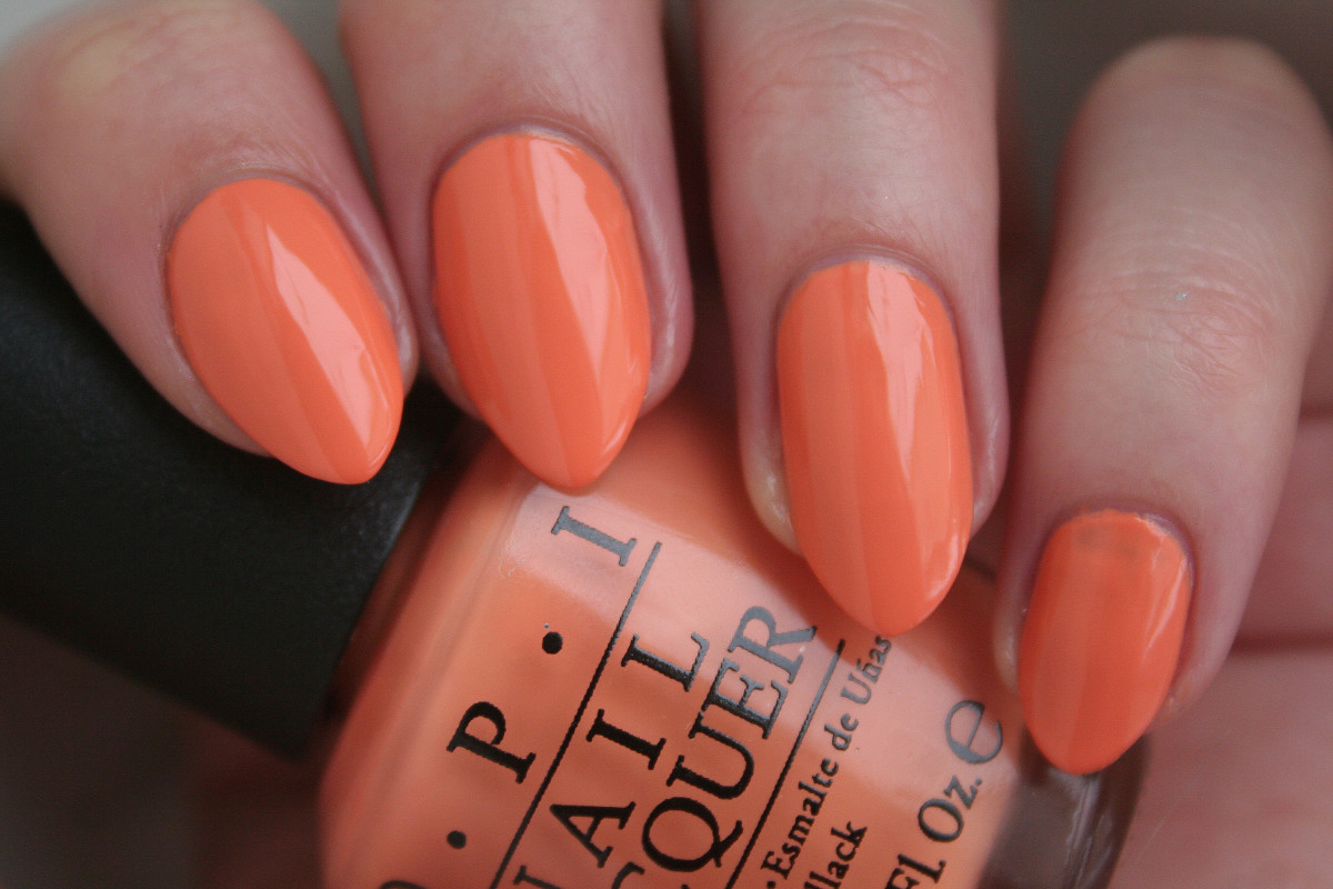 OPI Hawaii - Is Mai Tai Crooked