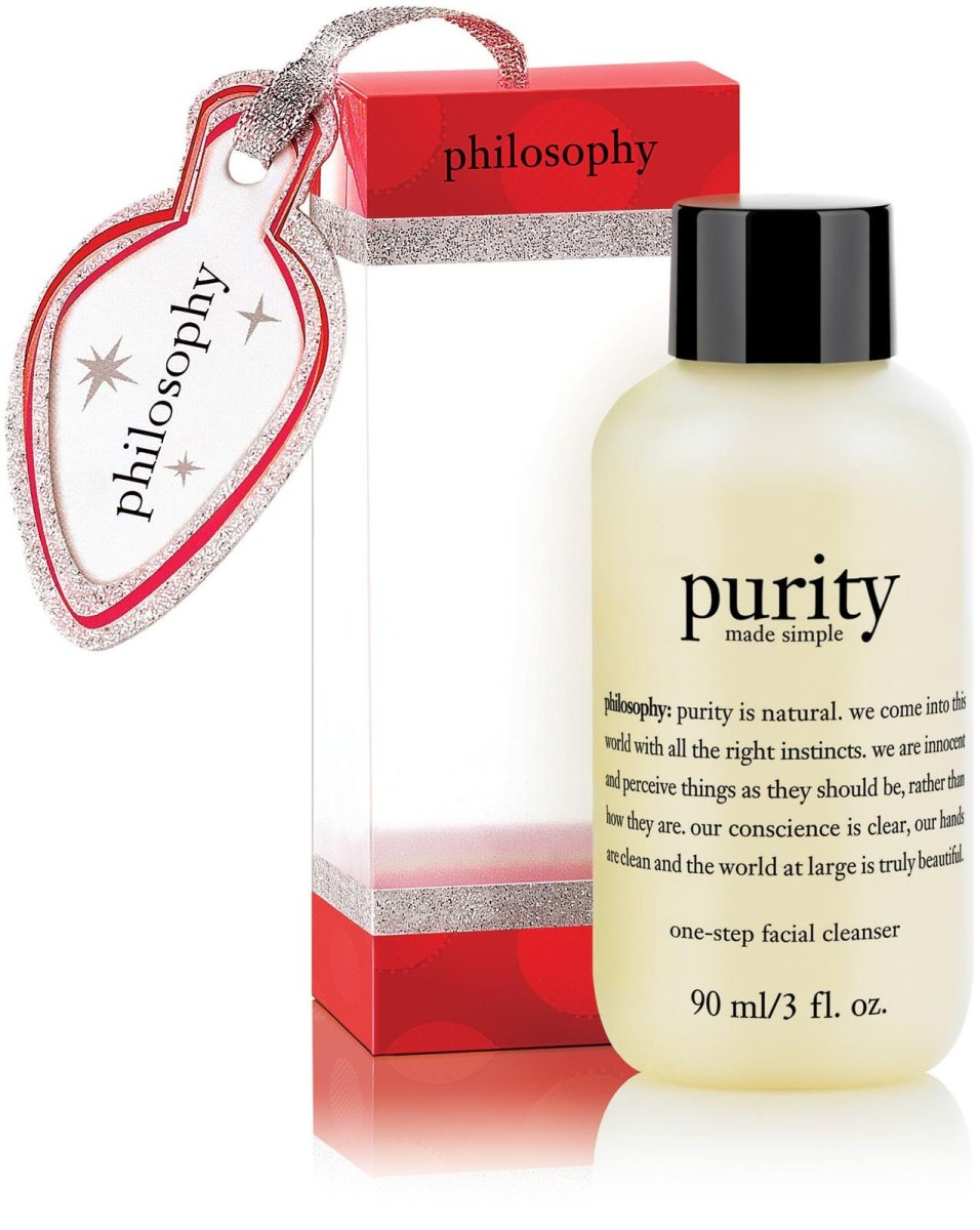 Philosophy Purity Made Simple Ornament