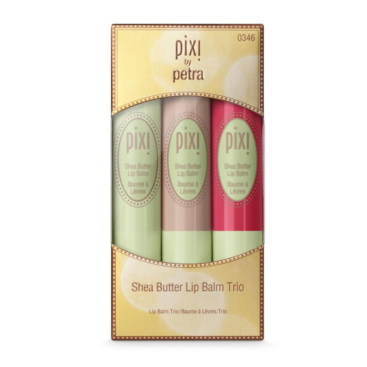 Pixi Shea Butter Lip Balm Trio