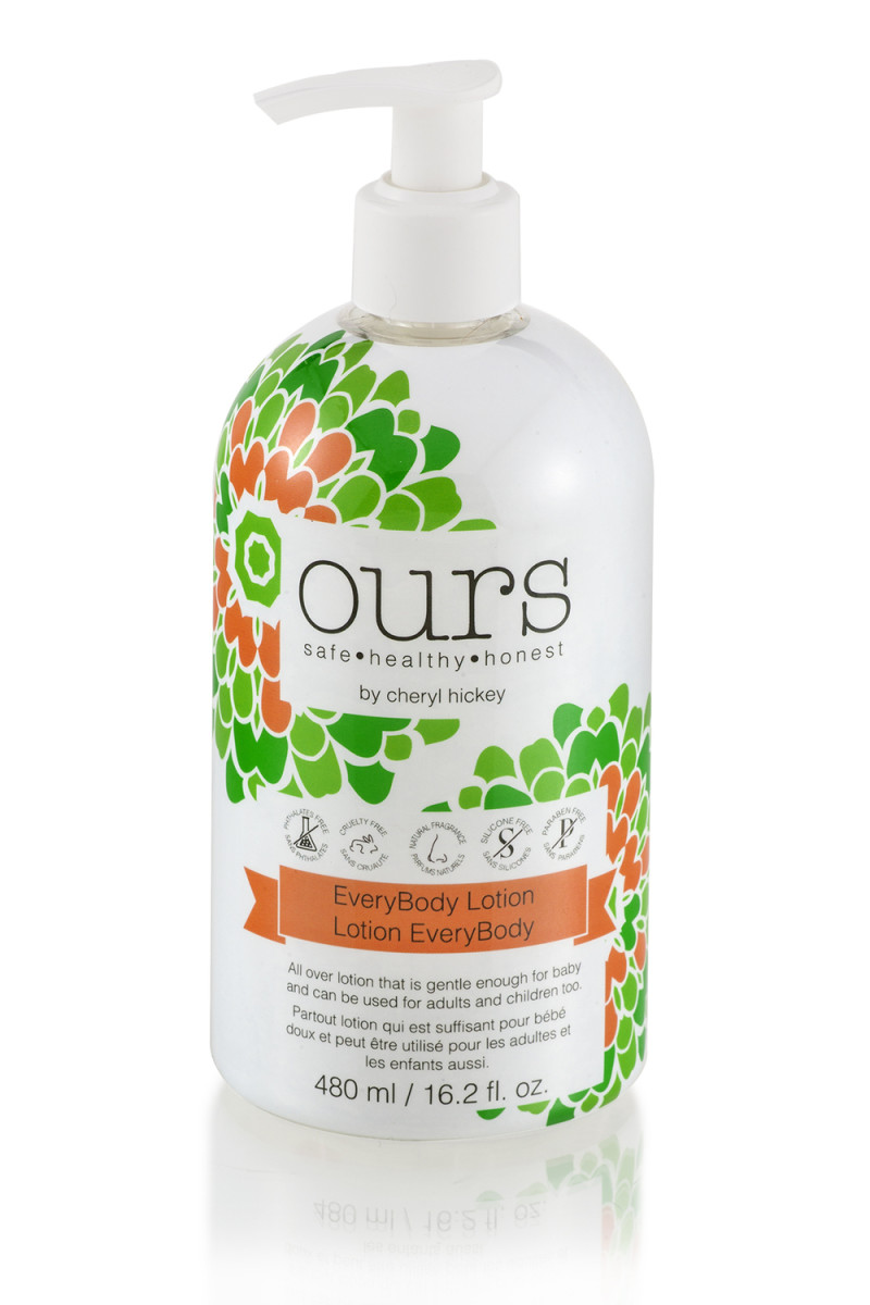 Ours by Cheryl Hickey EveryBody Lotion