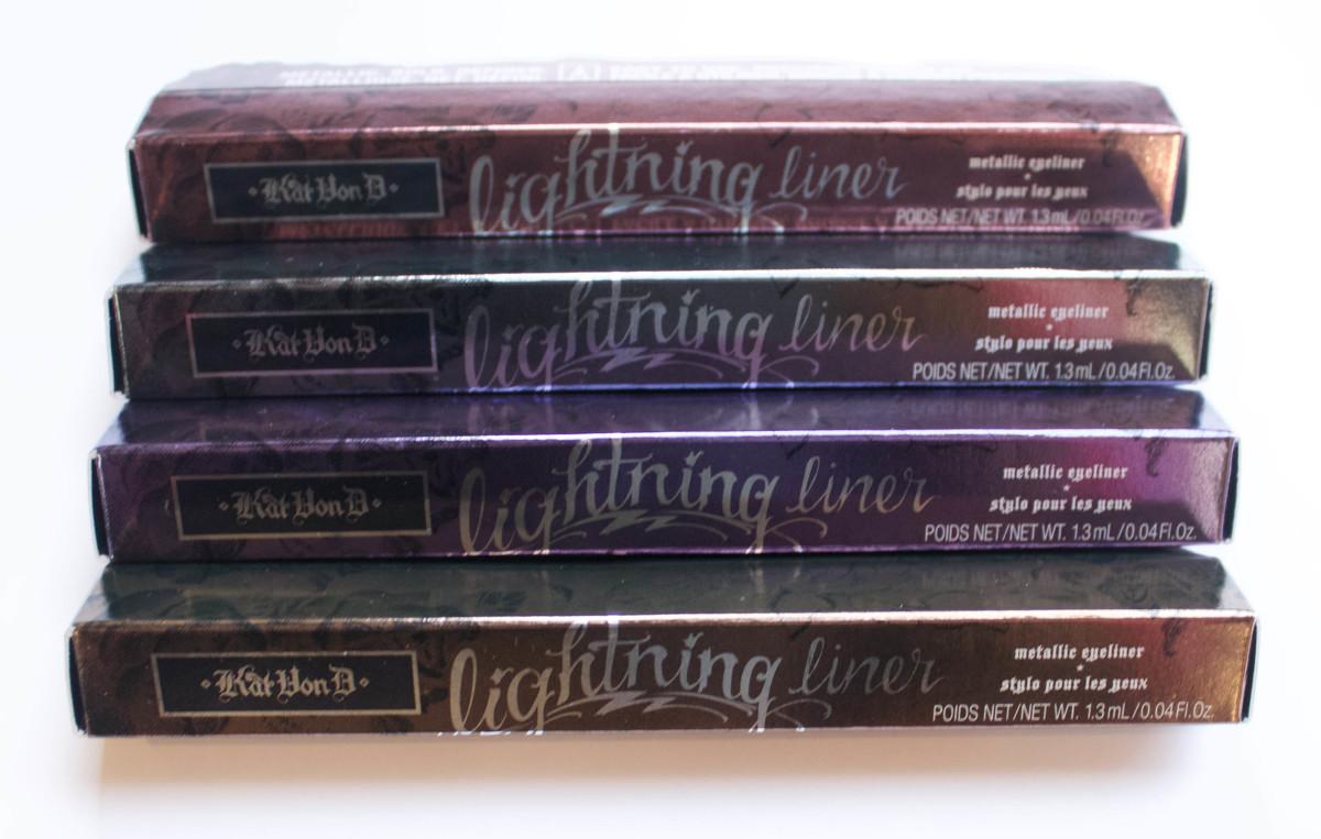 Kat Von D Lightning Liners (packaging)