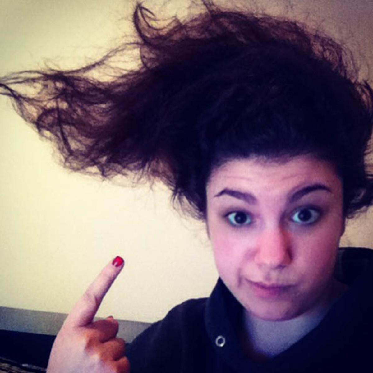 Crazy curls (Rikki)